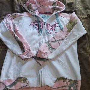 Cabela's/Realtree zip up hoodie